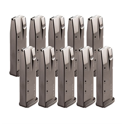 P320/250 Magazine Packs- 40 S&W - Sig P320 Magazine 10 Pack-.40 S&W