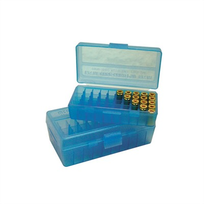 Pistol Ammo Box - Ammo Box Pistol Blue 380-9mm 50