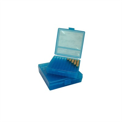 Pistol Ammo Boxes - Ammo Boxes Pistol Blue 38-357 100