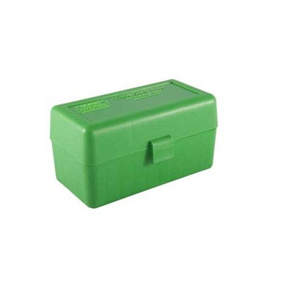 Mtm Rifle Ammo Boxes - Ammo Boxes Rifle Green 220 Swift-338 Federal 50