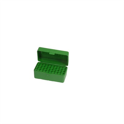 Mtm Rifle Ammo Boxes - Ammo Boxes Rifle Green 17 Remington - 256 Winchester Mag 50