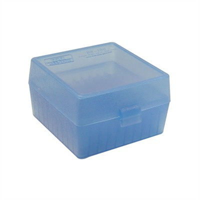 Mtm Rifle Ammo Boxes - Ammo Boxes Rifle Blue 17 Remington - 6x47 100