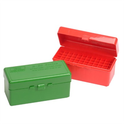 Rifle Ammo Boxes - Ammo Boxes Rifle Red 22-250 Rem- 6.5/308 Winchester 60