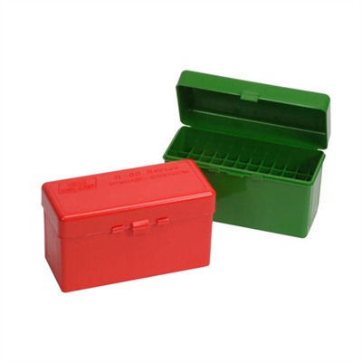 Mtm Rifle Ammo Boxes - Ammo Boxes Rifle Green 220 Swift - 458 Winchester Magnum 60