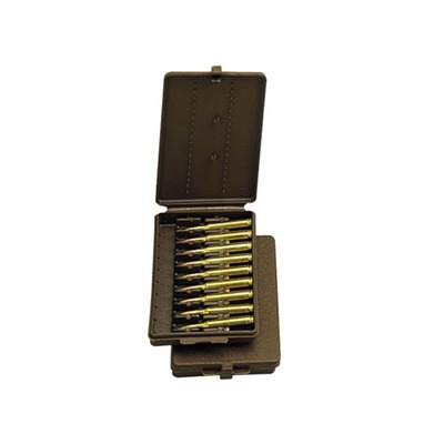 Mtm Rifle Ammo Boxes - Ammo Boxes Rifle Brown 17-7.62 X 39 9
