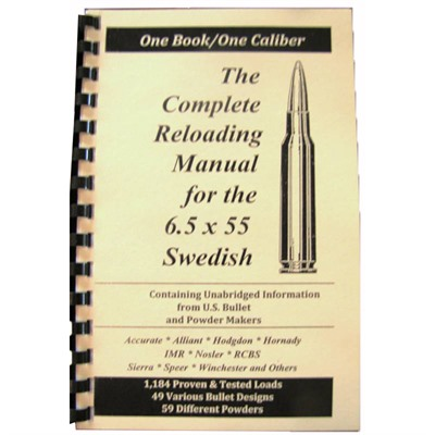 Loadbooks Usa, Inc. 749-000-828 Loadbook-6.5 X 55 Swedish