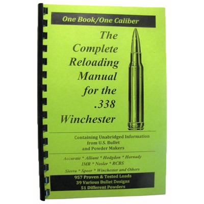 Loadbooks Usa Loadbook-338 Winchester Magnum