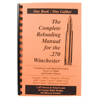 Loadbooks Usa Loadbook-270 Winchester