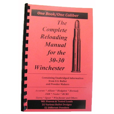 Loadbooks Usa, Inc. 749-000-839 Loadbook-30-30 Winchester