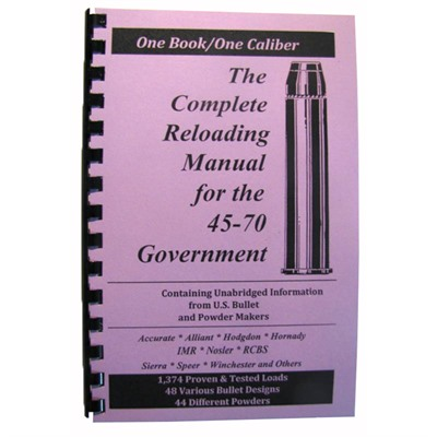 Loadbooks Usa, Inc. 749-000-843 Loadbook-45-70 Government