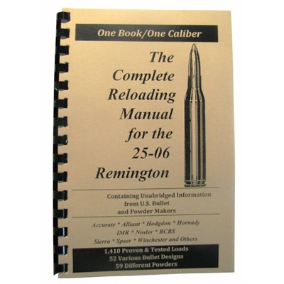 Loadbooks Usa Loadbook-25-06 Remington