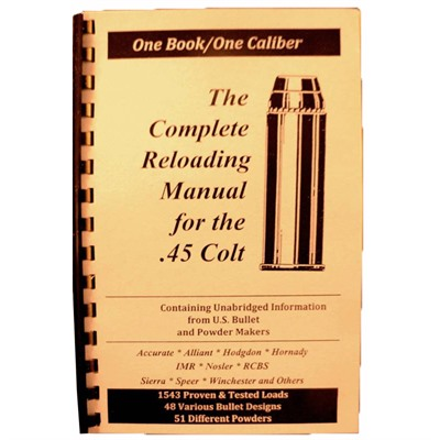 Loadbooks Usa Loadbook-45 Colt