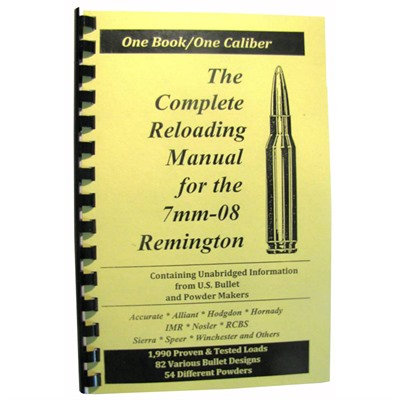 Loadbooks Usa Loadbook-7mm-08 Remington