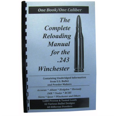 Loadbooks Usa, Inc. 749-000-858 Loadbook-243 Winchester