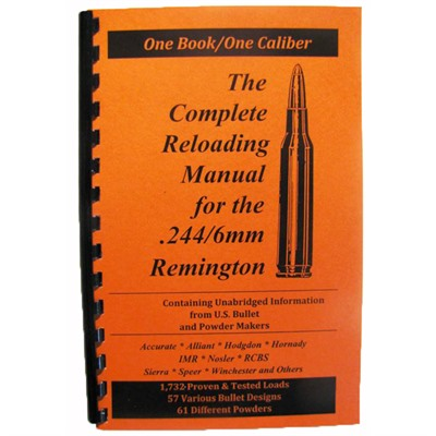 Loadbooks Usa Loadbook-6mm Remington