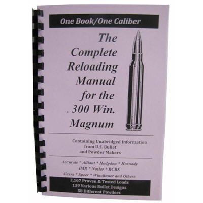 Loadbooks Usa, Inc. 749-000-860 Loadbook-300 Winchester Magnum