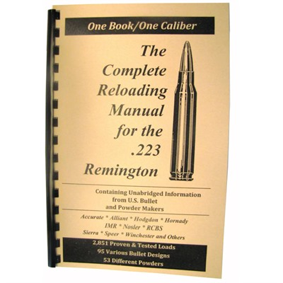 Loadbooks Usa, Inc. 749-000-862 Loadbook-223 Remington
