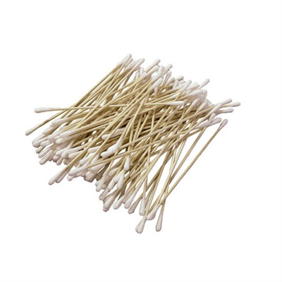 Sinclair International Cotton Swabs - Double Headed - 100 Pieces