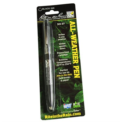 Rite In The Rain All-Weather Standard Click Pens - All-Weather Click Style Pen - Black Ink