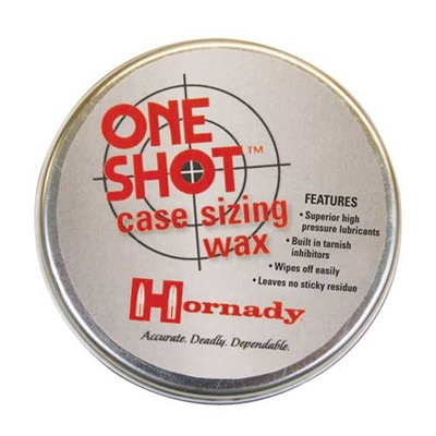 One Shot Case Sizing Wax