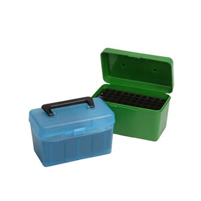 Rifle Ammo Boxes - Ammo Boxes Rifle Green 6.5x284mm Winchester 50