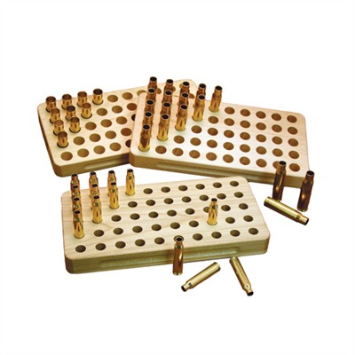 Sinclair International Stalwart Wooden Loading Blocks - 9mm Luger 50 Round Loading Block