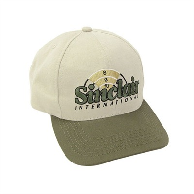 Sinclair Embroidered Cap - Khaki/Green Embroidered Cap