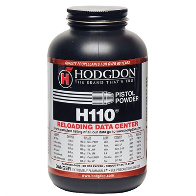 Hodgdon Powder Co., Inc. 749-003-110 Hodgdon H110 Powder