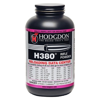 Hodgdon Powder H380 - Hodgdon Powder H380 - 1 Lb