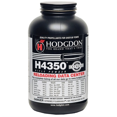 Hodgdon Powder Co., Inc. 749-003-595 Hodgdon Powder H4350