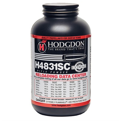 Hodgdon Powder H4831 Sc - Hodgdon Powder H4831 Sc - 1 Lb