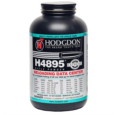 Hodgdon Powder Co., Inc. 749-003-598 Hodgdon Powder H4895