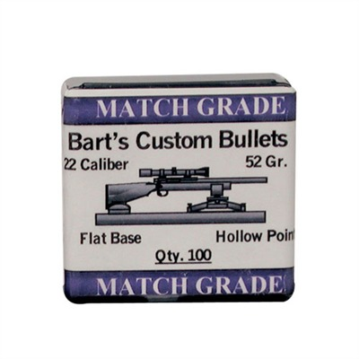 Barts Custom Bullets Bart's Custom Match Bullets