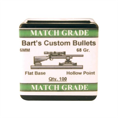 Image of Barts Custom Bullets Bart's Custom Match Bullets