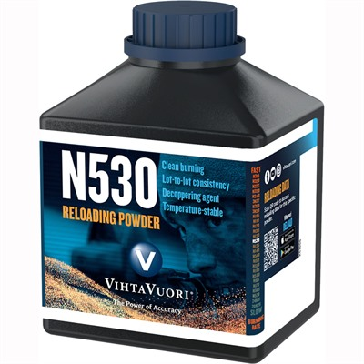 Vihtavuori N530 High Energy Smokeless Rifle Powder - N530 Smokeless Powder 1 Lb