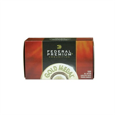 Federal Premium Gold Medal Rifle Primers - 215m Large Rifle Magnum Match Primers 1,000/Box