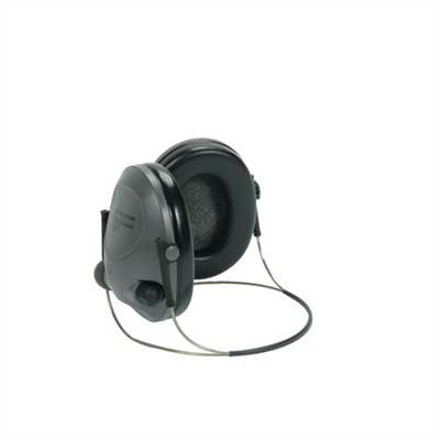 "Tactical ""6"" Electronic Hearing Protector - Tactical 6 Headphones (Back Band Style)"