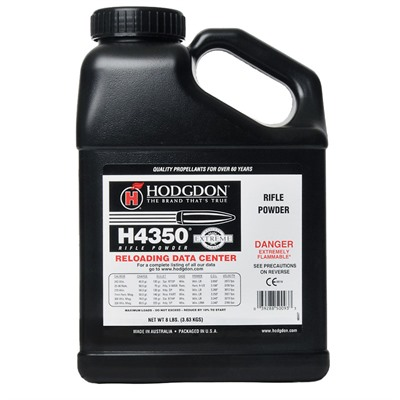 Hodgdon Powder Co., Inc. 749-008-040 Hodgdon Powder H4350