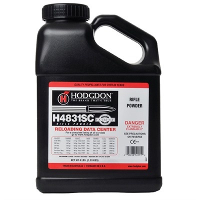 Hodgdon Powder H4831 Sc - Hodgdon Powder H4831 Sc - 8 Lbs