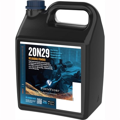 Vihtavuori 24n29 Smokeless Rifle Powder - 20n29 Smokeless Powder 8 Lbs