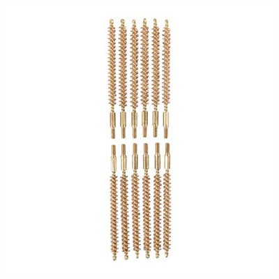 Sinclair International Dozen Pack Bronze Rifle Brushes - Dozen Pack Bronze Rifle Brushes, 20 Cal 5-40
