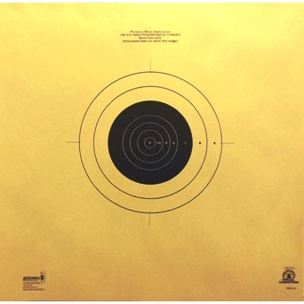 600 Yard Reduced Targets - 25 Pack - 600 Yard Reduced Target - 25 Pack