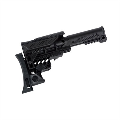 Ar-15  Sniper Stock Collapsible A2 Length - Ar-15  Sniper Stock Collapsible A2 Length Blk