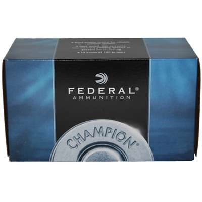 Federal Rifle Primers - Large Rifle Primers 1,000/Box