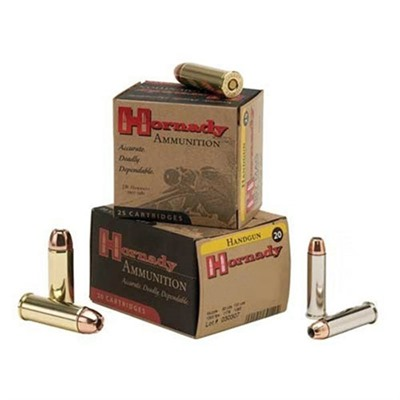 Hornady Custom Ammo 38 Special 158gr Jhp 38 Special 158gr Jacketed Hollow Point 25/Box