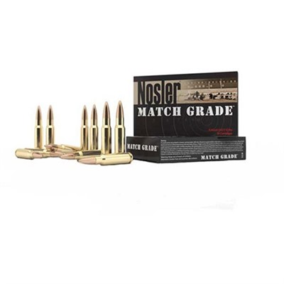 Nosler Match Grade Ammo 223 Remington 77gr Hpbt - 223 Remington 77gr Hpbt 20/Box
