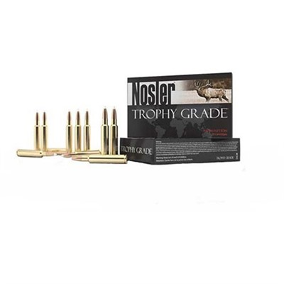 Nosler Trophy Grade Ammo 25-06 Remington 100gr E-Tip - 25-06 Remington 100gr E-Tip 20/Box