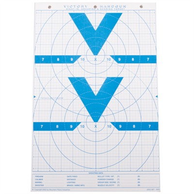 Mountain Plains Industries Mt. Plains Victory Rifle & Handgun Targets - Mt. Plains 11