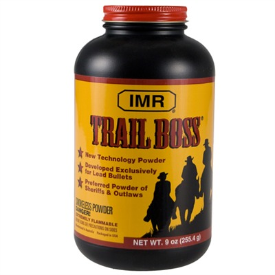 Imr Trail Boss Powder - Imr Trail Boss Powder 9 Oz.