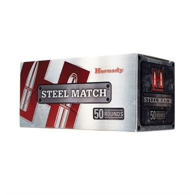 Steel Match Ammo 223 Remington 55gr Hp - 223 Remington 55gr Hollow Point 50/Box